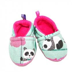 """Chaussons motifs """"Panda"""""""